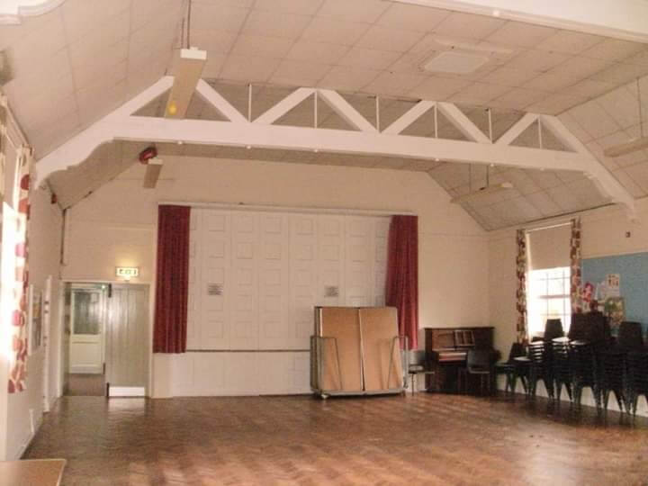 Claines Village Hall is available to hire