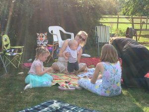 Claines has hosted family picnics in the grounds of the Vicarage