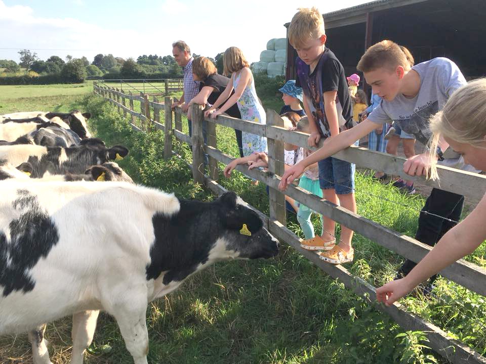 Claines Church hosts many interesting family days including farm experiences