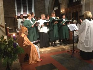 Claines Church Choir performs regularly