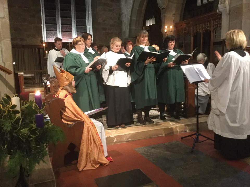 Claines Church Choir performs regularly