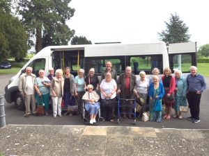 Claines Church quest group on day out