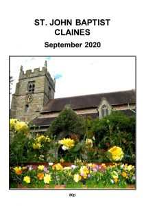 Claines parish mag September 2020