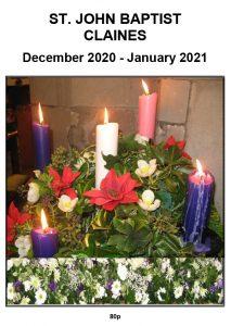 Claines Parish magazine December 2020