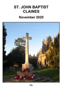 Claines Church news for November