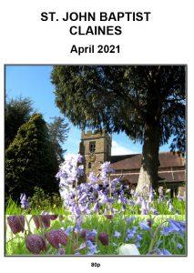 Claines Church parish magazine April 2021