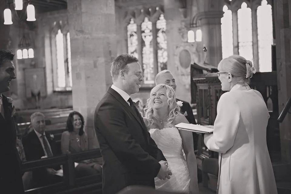 Wedding at Claines Church